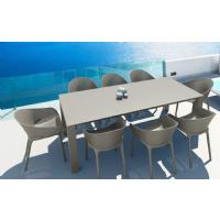 Sky Extendable Dining Set 9 Piece Dove Gray ISP1023S-DVR - 5