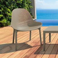 Sky Outdoor Indoor Lounge Chair Taupe ISP103-DVR - 5