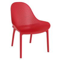 Sky Outdoor Indoor Lounge Chair Red