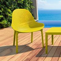 Sky Outdoor Indoor Lounge Chair Yellow ISP103-YEL - 6
