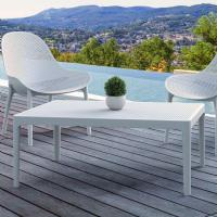 Sky Outdoor Coffee Table White ISP104-WHI - 3