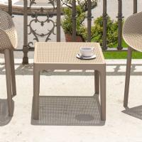 Sky Outdoor Side Table Taupe ISP109-DVR - 3