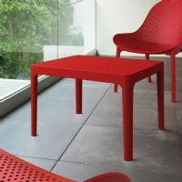 Sky Outdoor Side Table Red ISP109-RED - 3