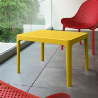 Sky Outdoor Side Table Yellow ISP109-YEL - 3