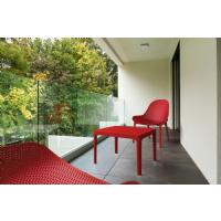 Sky Outdoor Side Table Red ISP109-RED - 9