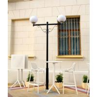 Sky Air Square Bar Set with 2 Barstools White ISP1162S-WHI - 4