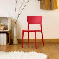 Monna Dining Chair Red ISP127-RED - 5