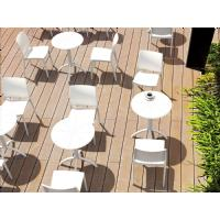 Octopus Outdoor Dining Table 24 inch Round Taupe ISP160-DVR - 14