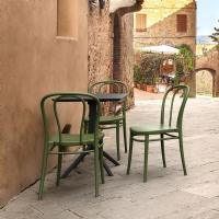 Victor Resin Outdoor Chair Olive Green ISP252-OLG - 5