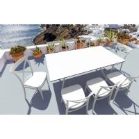 Cross Resin Outdoor Chair Taupe ISP254-DVR - 6