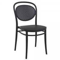 Marcel Resin Outdoor Chair Black