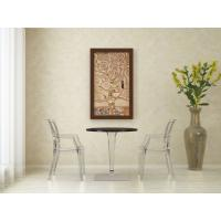 Ice Round Dining Table White Top 24 inch. ISP500-WHI - 7