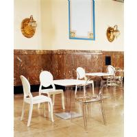 Ice Square Dining Table White Top 28 inch. ISP560-WHI - 13