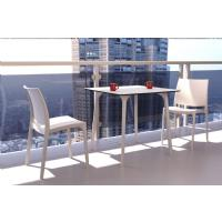 Maya Square Dining Table 32 inch White ISP685-WHI - 17