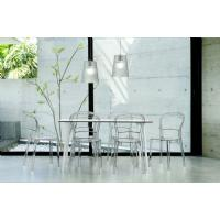 Maya Rectangle Dining Table 55 inch White ISP690-WHI - 14