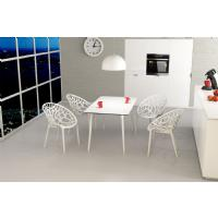 Maya Rectangle Dining Table 55 inch White ISP690-WHI - 15