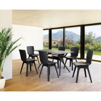 Air Rectangle Dining Table 55 inch Black ISP705-BLA - 3