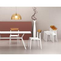 Air Rectangle Dining Table 71 inch White ISP715-WHI - 12