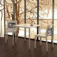 Mango Square Dining Table White 28 inch ISP800-WHI - 8