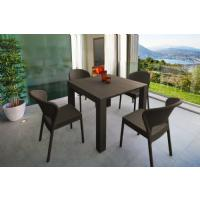 Daytona Extendable Dining Set 5 Piece Brown ISP8182S-BR - 3