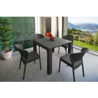 Daytona Extendable Dining Set 5 Piece Brown ISP8182S-BR - 4
