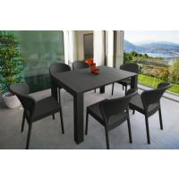 Daytona Extendable Dining Set 7 Piece White ISP8183S-WH - 4