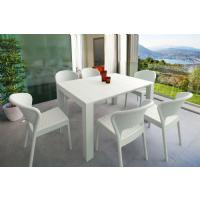 Daytona Extendable Dining Set 7 Piece White ISP8183S-WH - 5