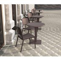 Verona Resin Wickerlook Dining Chair White ISP830-WH - 11