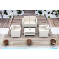 Monaco Wickerlook Club Chair White with Cushion ISP831-WH - 26