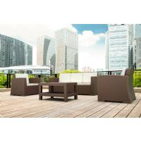 Monaco Wickerlook Lounge Table Brown ISP838-BR - 1