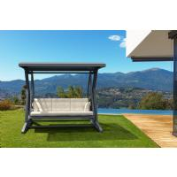 Hawaii Wickerlook Patio Swing with Sunbrella Cushions Brown ISP862-BR - 8