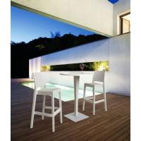 Jamaica Wickerlook Resin Bar Chair White ISP866-WH - 16