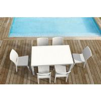 Orlando Wickerlook Patio Dining Set 7 Piece Brown ISP8781S-BR - 5
