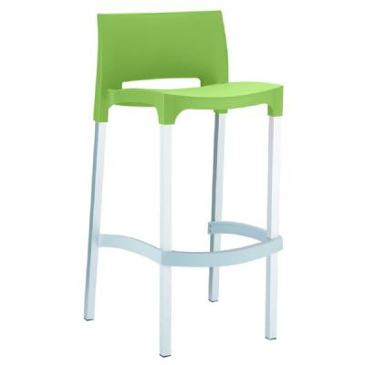 Gio Resin Outdoor Barstool Apple Green ISP035-APP