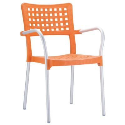 Gala Dining Arm Chair Orange ISP041-ORA