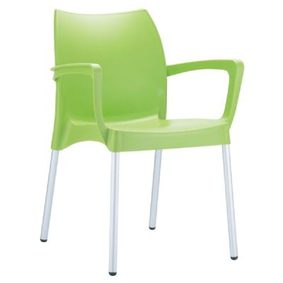Dolce Resin Outdoor Arm Chair Apple Green ISP047-APP