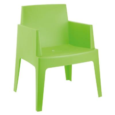 Box Outdoor Dining Chair Tropical Green ISP058-TRG