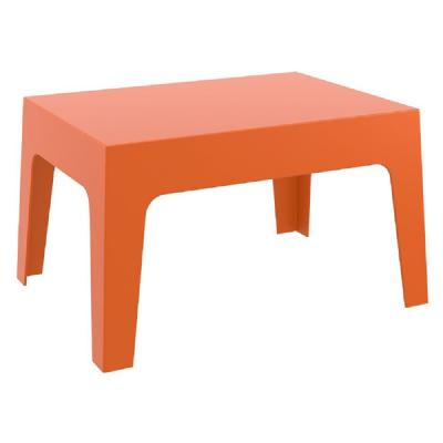 Box Resin Outdoor Coffee Table Orange ISP064-ORA