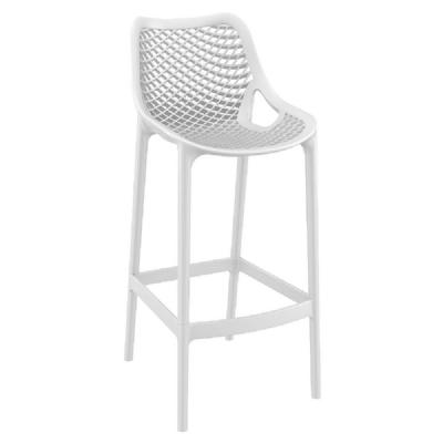 Air Resin Outdoor Bar Chair White ISP068-WHI