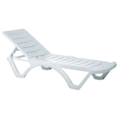 Aqua Pool Chaise Lounge ISP076-WHI
