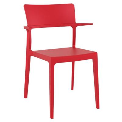 Plus Arm Chair Red ISP093-RED
