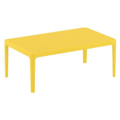 Sky Outdoor Coffee Table Yellow ISP104-YEL