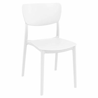 Monna Dining Chair White ISP127-WHI