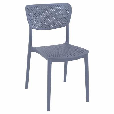 Lucy Dining Chair Dark Gray ISP129-DGR