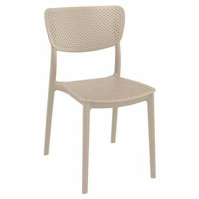Lucy Dining Chair Taupe ISP129-DVR