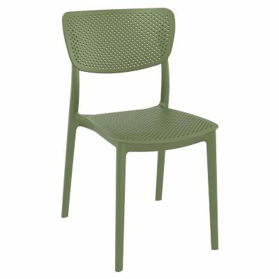 Lucy Dining Chair Olive Green ISP129-OLG