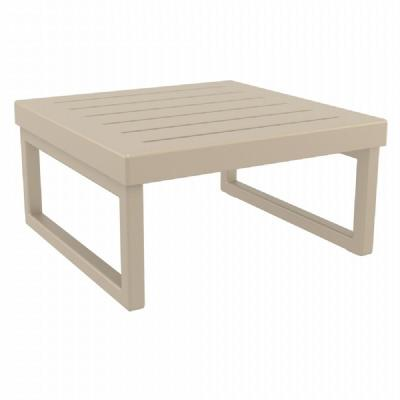 Mykonos Square Coffe Table Taupe ISP137-DVR