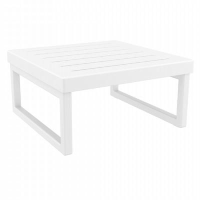 Mykonos Square Coffe Table White ISP137-WHI