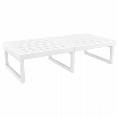 Mykonos Rectangle Coffe Table White ISP138-WHI
