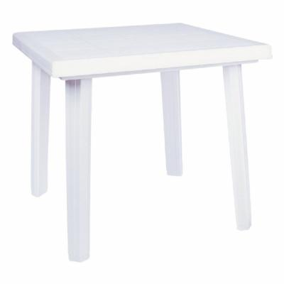 Cuadra Resin Square Outdoor Table 31 inch White ISP165-WHI